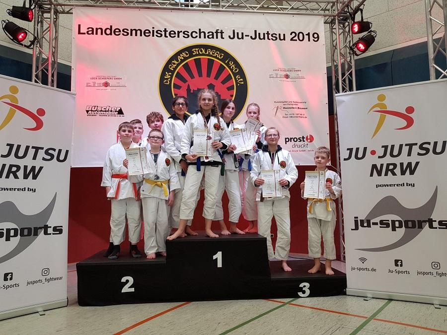Landesmeisterschaften Ju-Jutsu in Stolberg