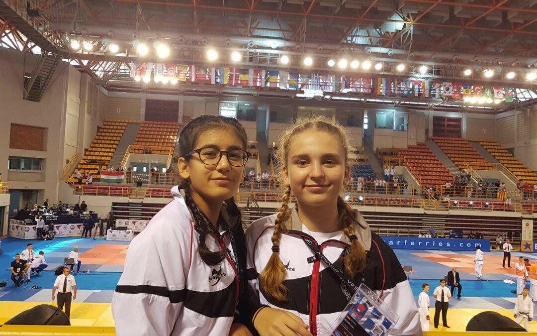 Bronzemedaille für Marjan & Lara bei den U16 Weltmeisterschaften im Duo!
