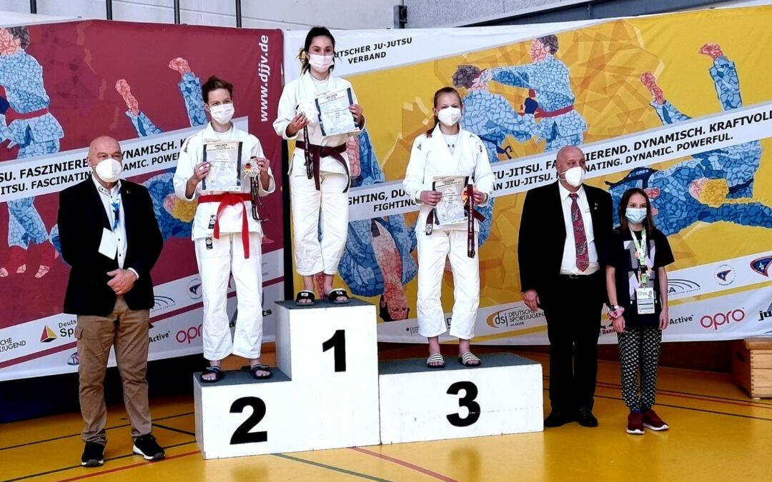 3. Platz bei den deutschen Meisterschaften 2021 für Charlotte
