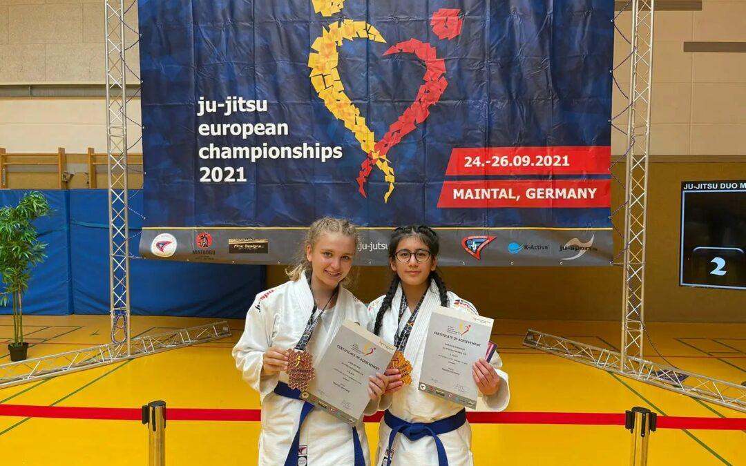 Bronzemedaillie für Ju-Jutsu Duo Team der DJK